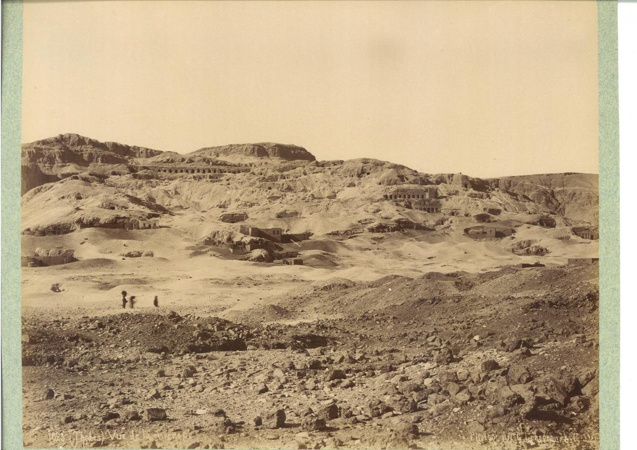 Gournah dans les années 1880