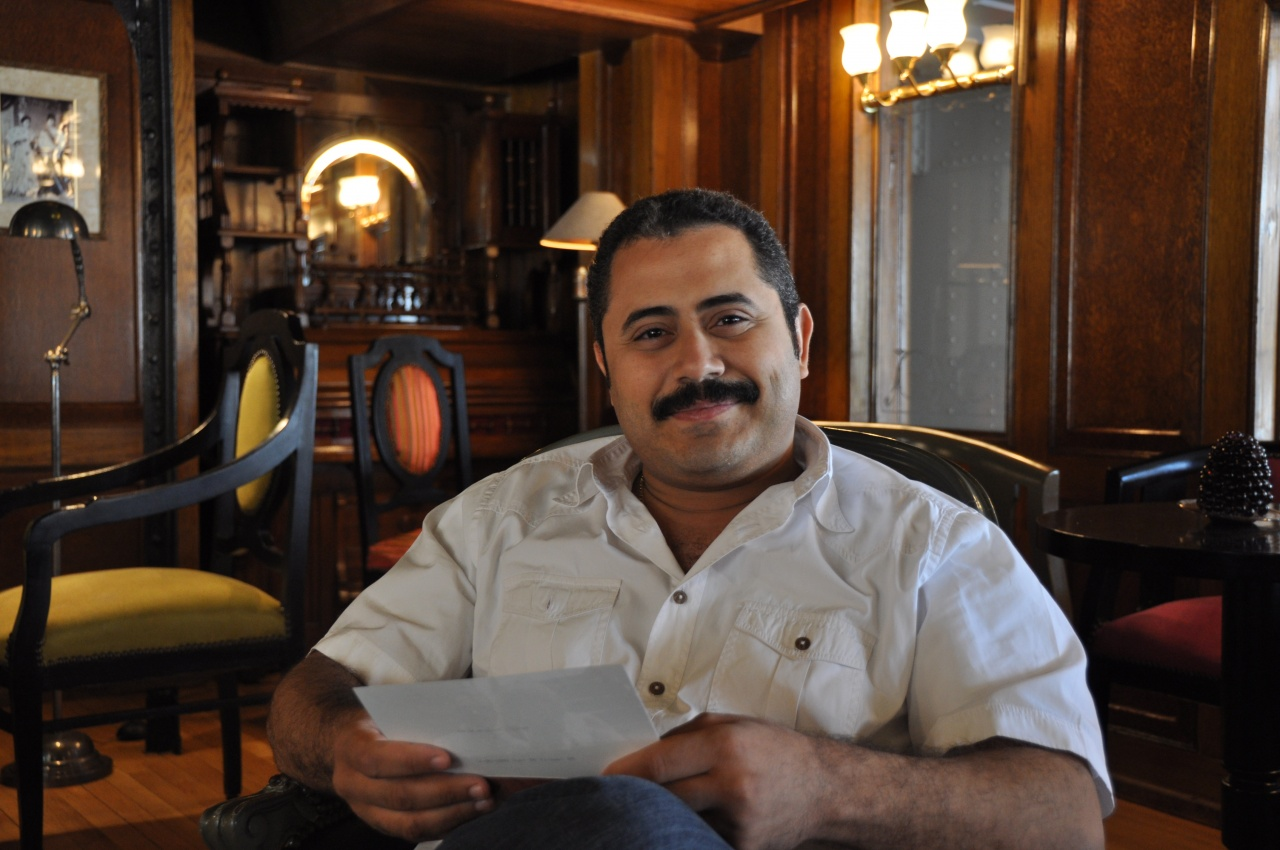 Amir Atteia, directeur du navire.