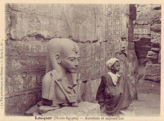 Fouilles de georges legrain 1904.