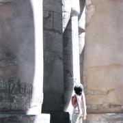Salle hypostyle du domaine de Karnak.
