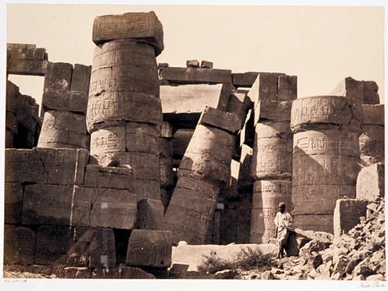 Francis Frith 1856-1859 - Karnak