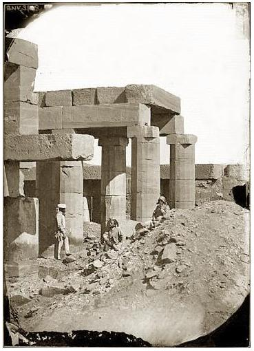 Egypte, Karnak - Temple d'Amon Ré.