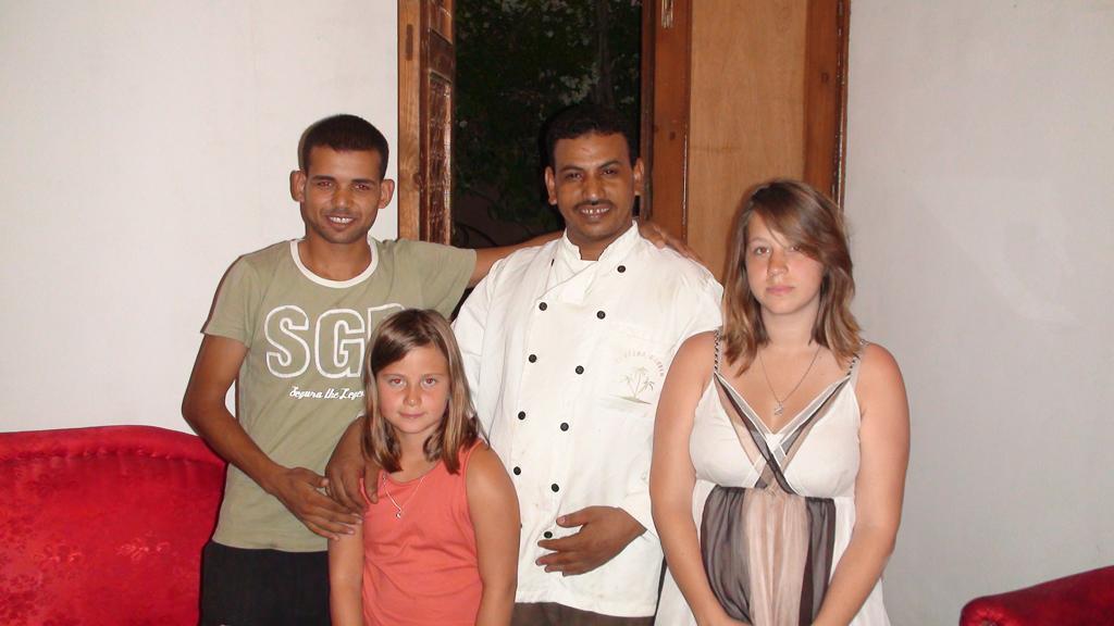 Août 2009 au RdC de la villa.