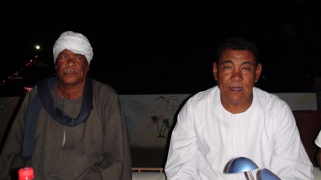 Août 2009 - Grande fête sur la terrase de chez Rajab.