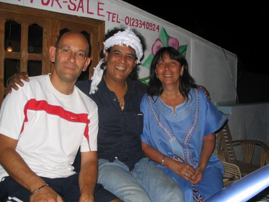 Terrasse chez Rajab - Août 2009