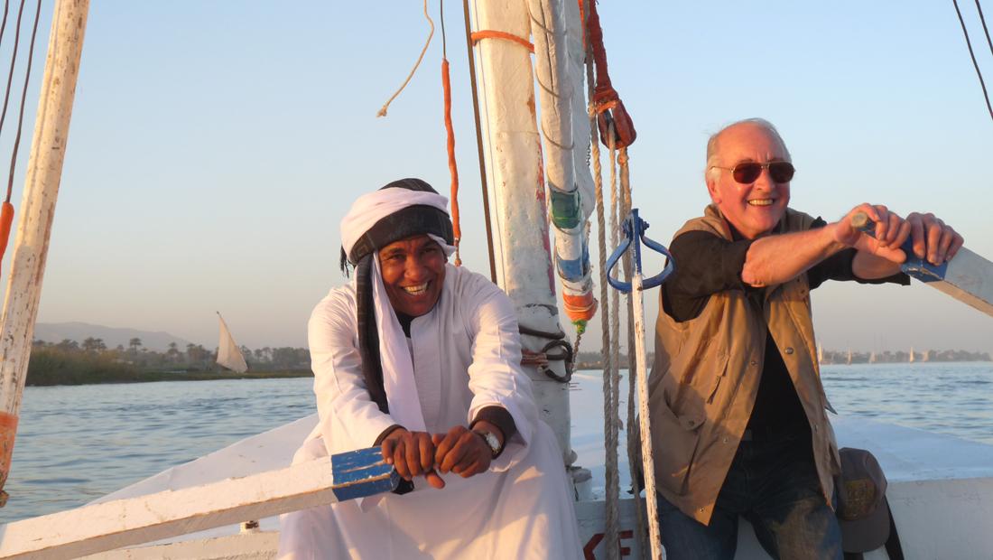 Photo de Claire et Jean-Louis - Janvier 2010.