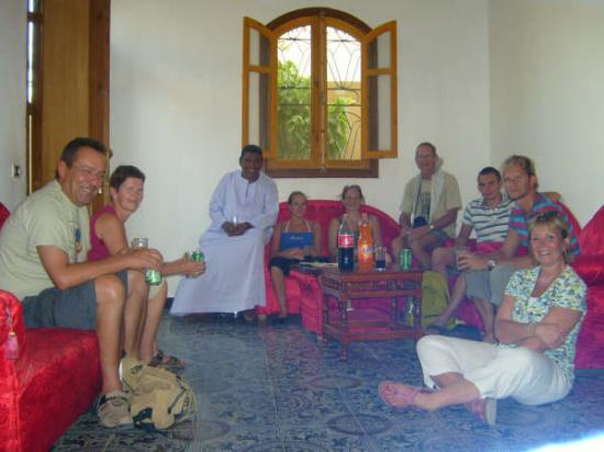 Visite de la villa de Mohamed - Juillet 2008