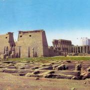 Le Temple de Louxor en 1970