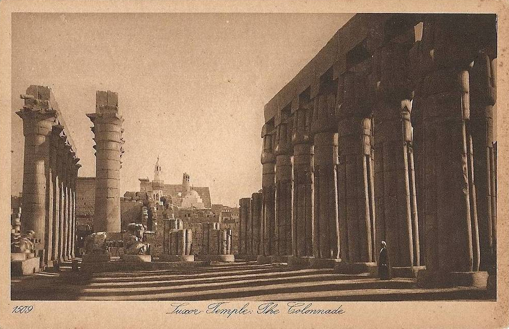 Le Temple de Louxor.