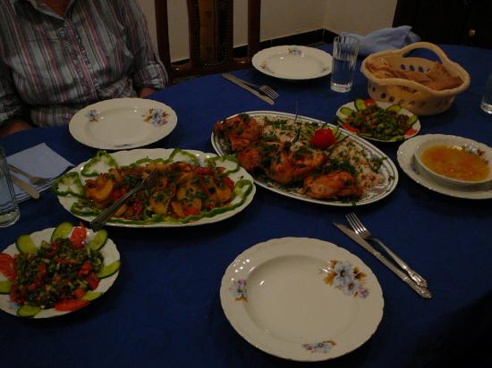 Le dîner - Mars 2009