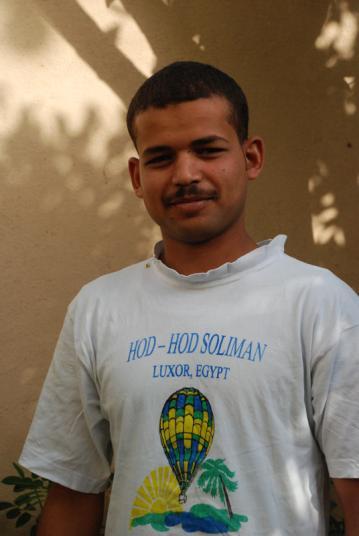 Ahmed le symphatique gardien de la villa.