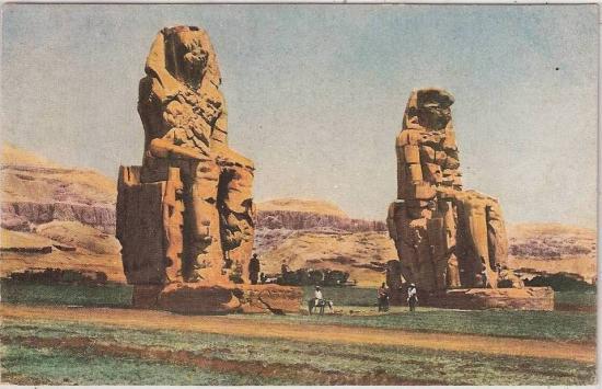 Les Colosses de Memnon