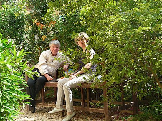 Catherine et Bernard de St Nazaire - Juin 2008.