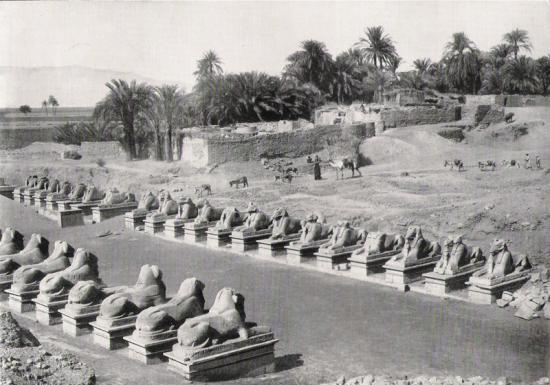 Karnak - Allée des Sphinx