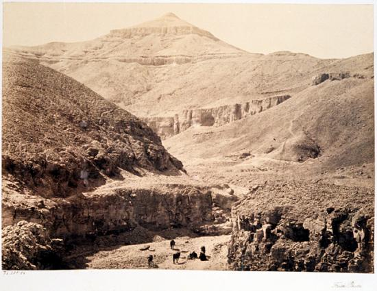 Francis Frith 1856-1859 - La vallée des rois.