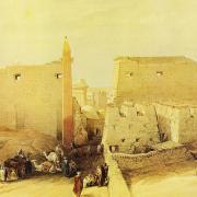 Temple de Louxor - David Roberts 1839