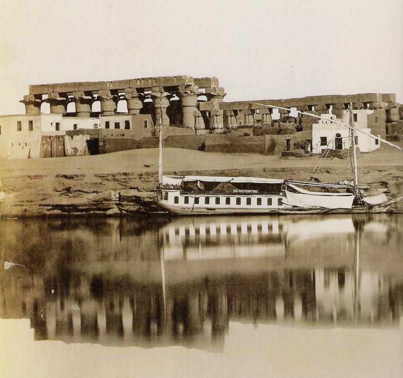 Temple de Louxor - Photo début 20ème