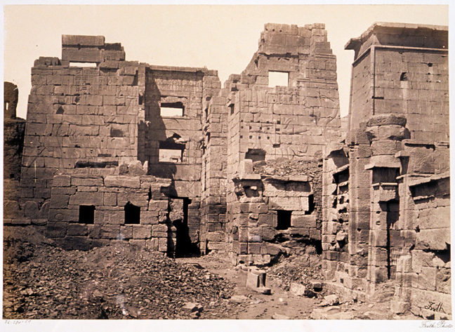 Francis Frith 1856-1859 - Medinet Habou