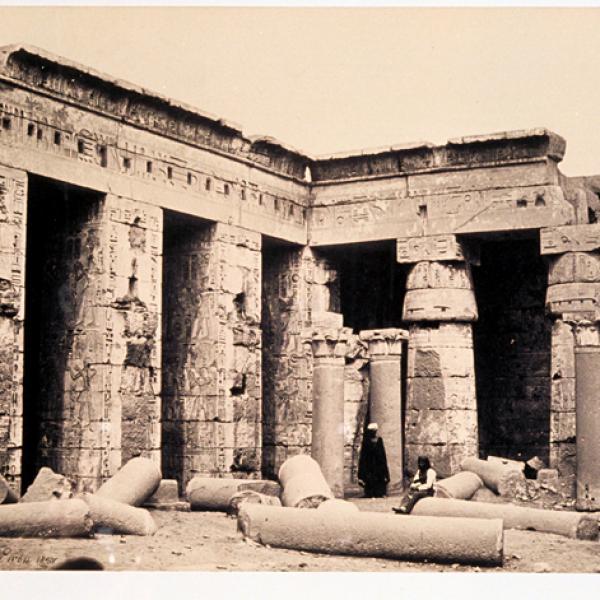 Le temple de Medinet Abou