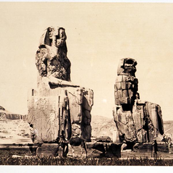 Le temple d'Aménophis III