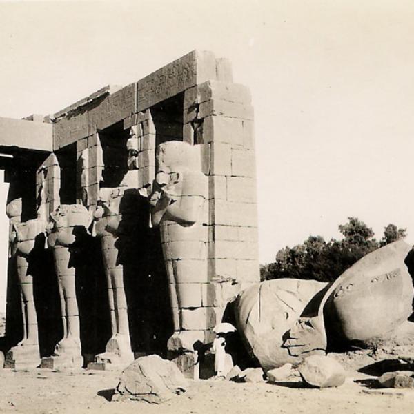 Le temple du Ramesseum