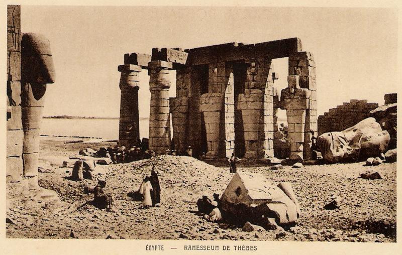 Le Ramesseum - Photo envoyée par Marie Grillot