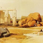 La Ramesseum - David Roberts -1835