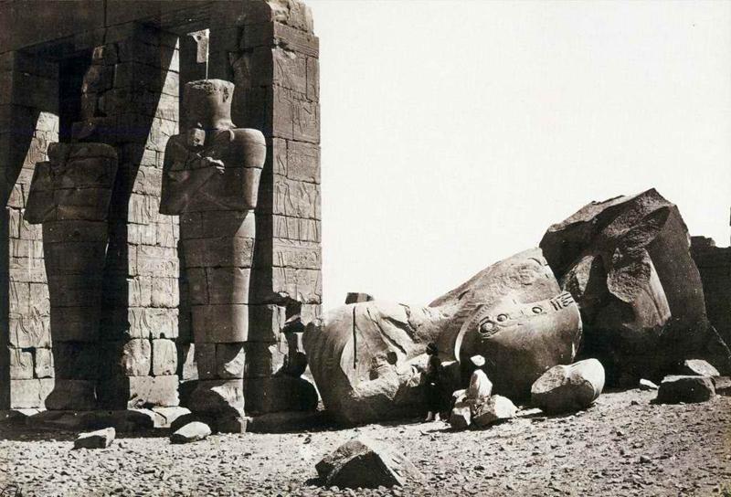 Le colosse de Ramsès II - Le Ramesseum