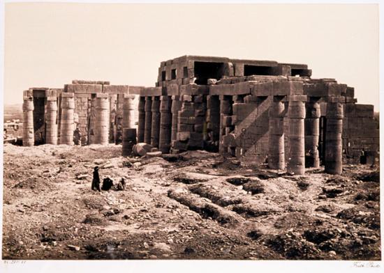Francis Frith 1856-1859 - Le Ramesseum.