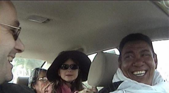 A bord du superbe taxi de Mohamed
