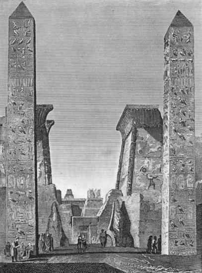 Gravure de 1790