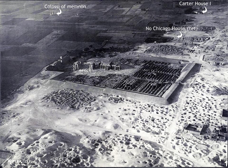 Le site en 1914