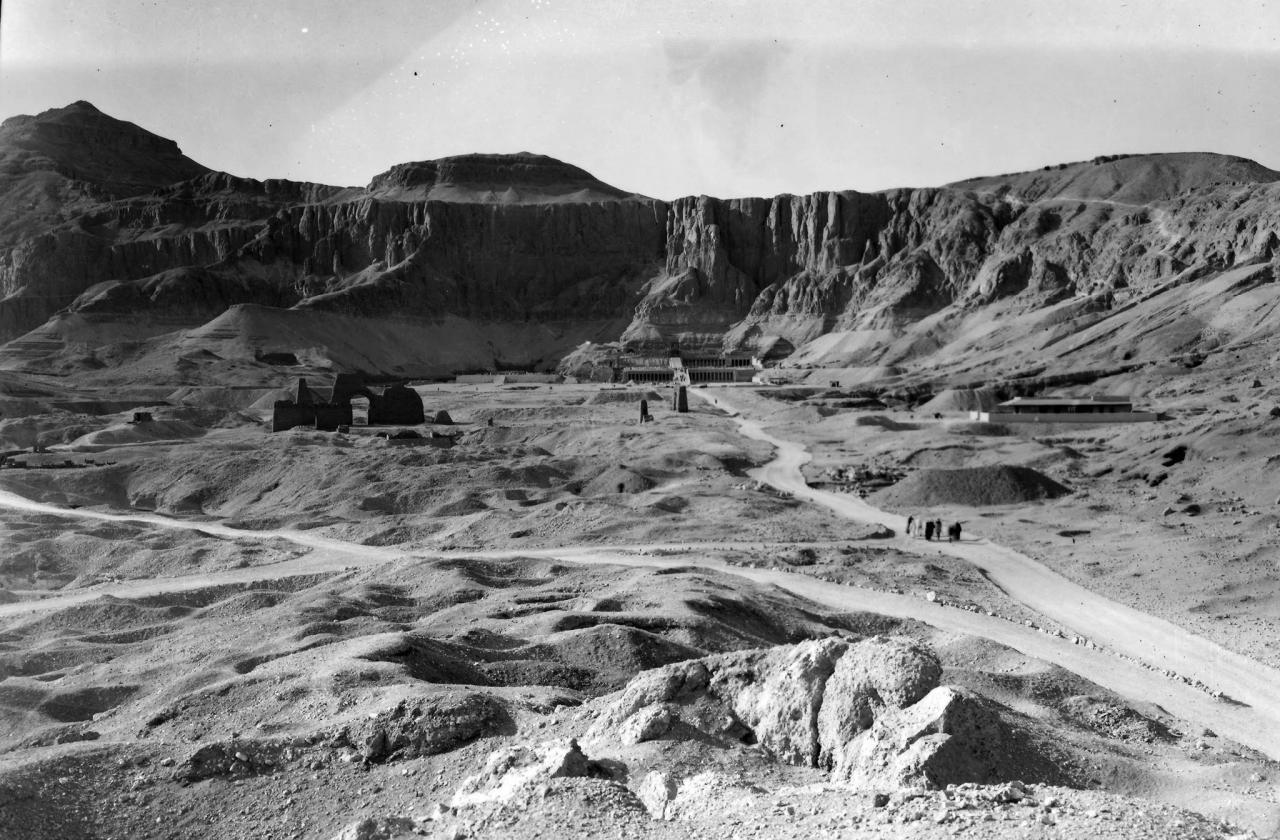 Le site en 1927