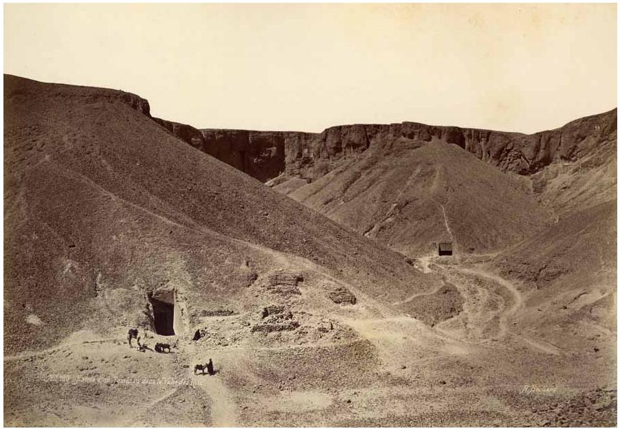 Thèbes, Egypte, Circa 1870