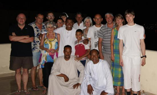 Grande fête sur la terrasse de KV1 - Août 2012