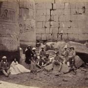 Temple of Amun, Karnak, March 16, 1862