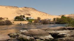 1ère cataracte du Nil à Assouan