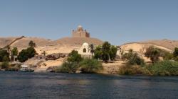 Le Mausolée Aga Khan d'Assouan