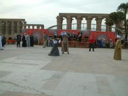 Esplanade du temple de Louxor