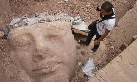 Tête de Ramses II