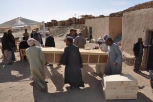 Sortie du sarcophage