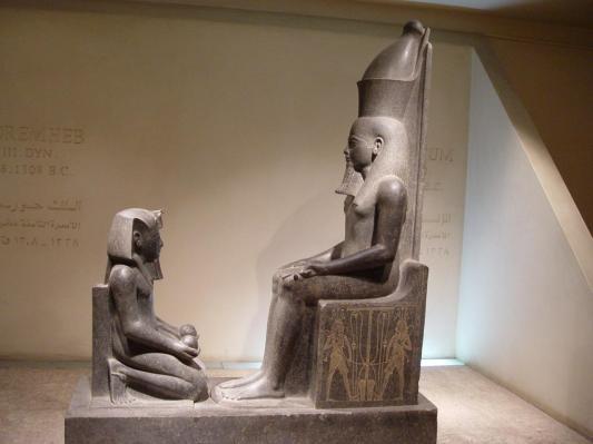 Horemheb et Amon - 1340 av JC