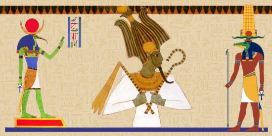 Le panthéon égyptien
