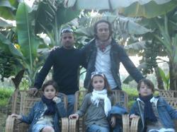 Ali, Dominique et les Enfants.
