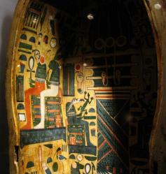 Sarcophage du musée de la momification de Louxor- Photo Maryse Iaria