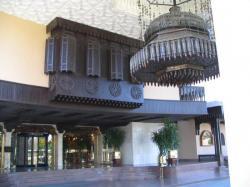 Entrée de l'hôtel.