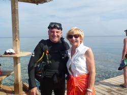 Jean-Pierre et Danielle à Hurghada