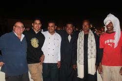 Jean-Pierre, Mohamed, Chazli, Momo, Ragab et Badawi