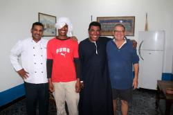 Chazli, Badawi, Momo et Jean-Pierre