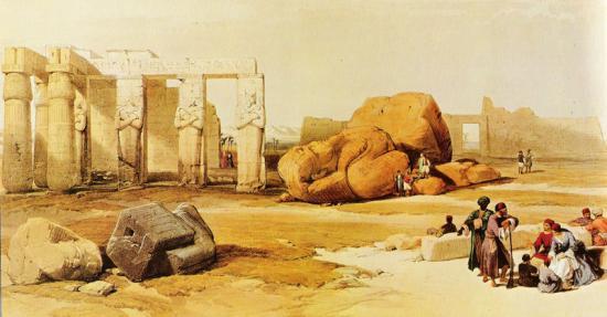 Le temple de Ramsès II